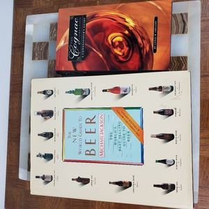 Beer Drinking Cognac Lot Books Coffee Table Party